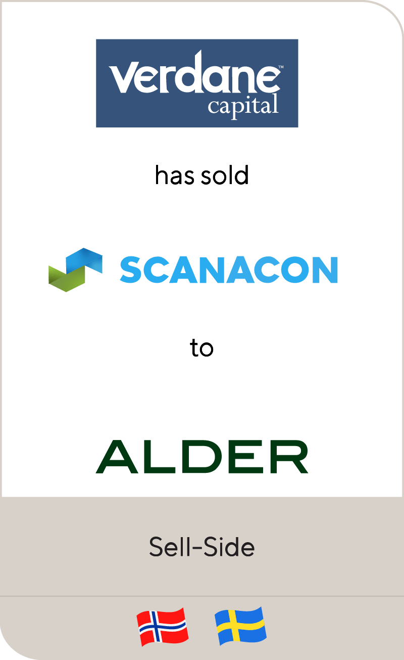 Verdane Capital Scanacon Alder 2018