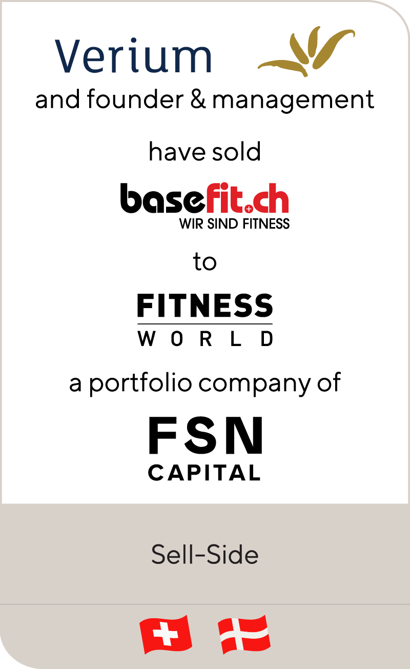 Verium Basefit Fitness World FSN Capital 2018