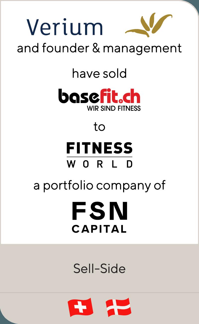 Verium Basefit Fitness World FSN Capital 2018