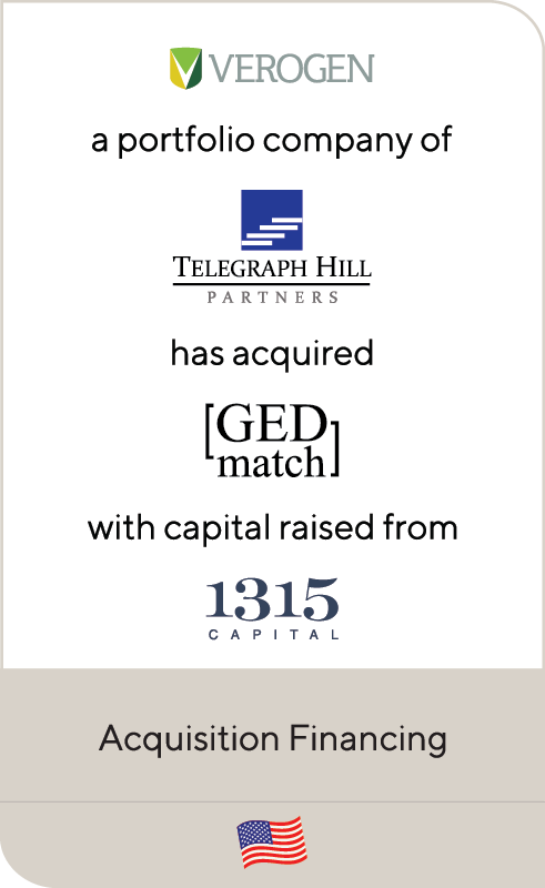 Verogen Telegraph GED Match 1315 Capital 2019