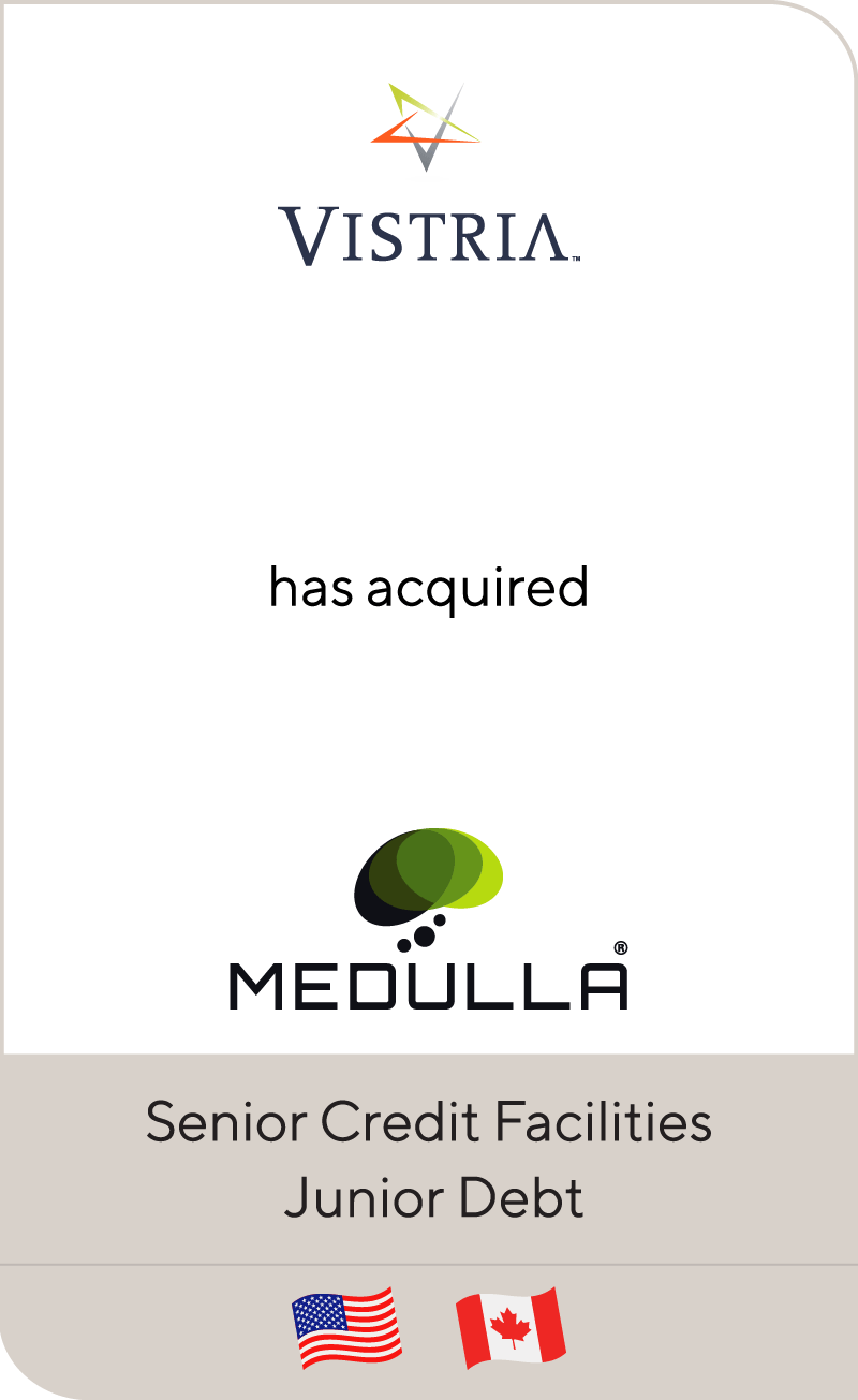 The Vistria Group has acquired Medulla