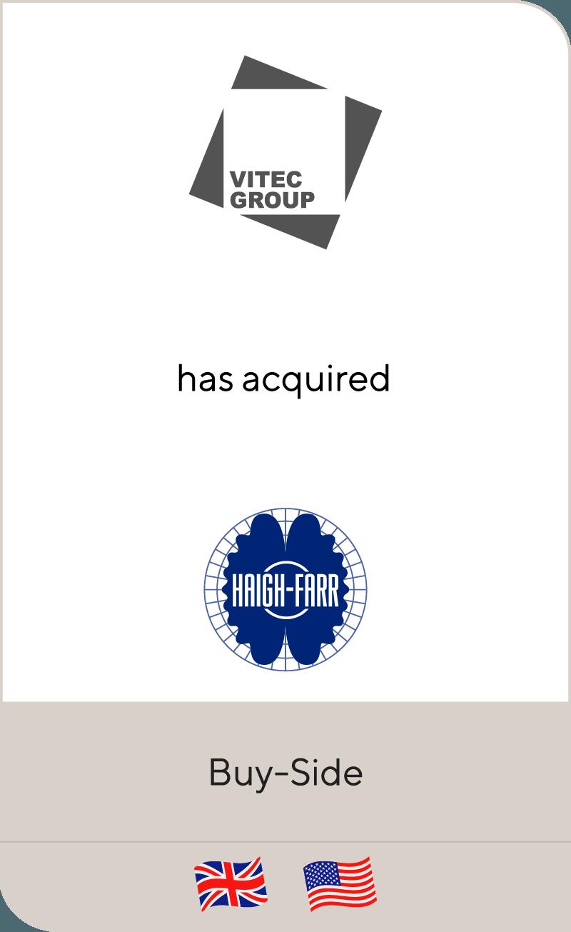 Vitec Group_Haigh-Farr
