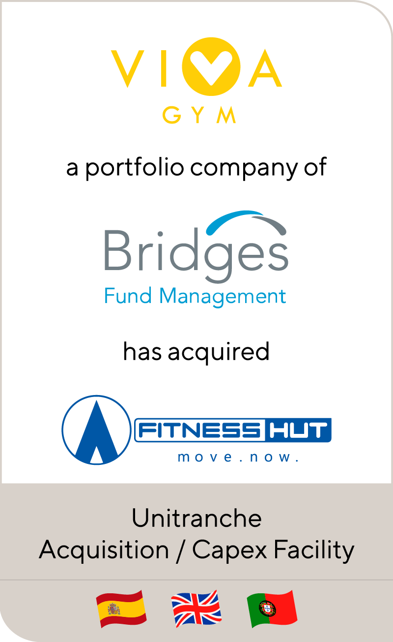 Viva Gym Bridges Fund Mgmt Fitness Hut 2018