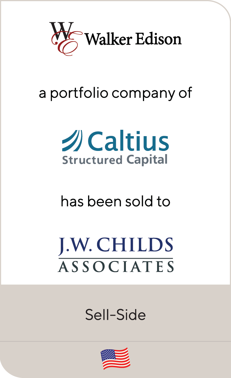 Walker Edison Caltius JW Childs Associates 2018