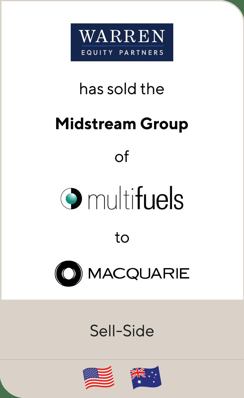 Warren Equity Partners Mulifuels Midstream Group Macquarie Principal Finance 2020