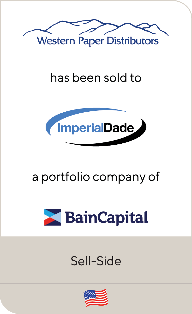 Western Paper Imperial Dade Bain Capital 2021