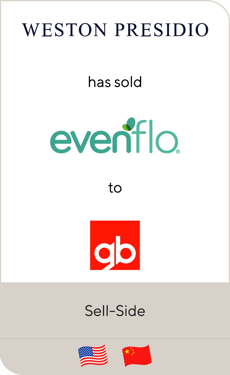 Evenflo has been sold to Goodbaby International