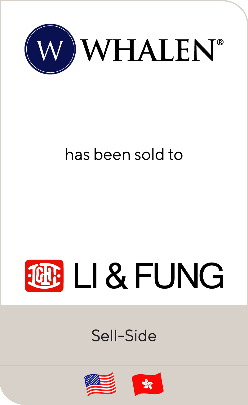 Whalen Furniture Manufacturing has been sold to Li & Fung