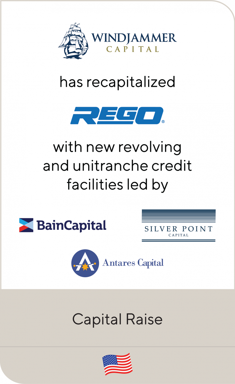 Windjammer Capital Investors REGO Bain Capital Silver Point Antares Capital 2019