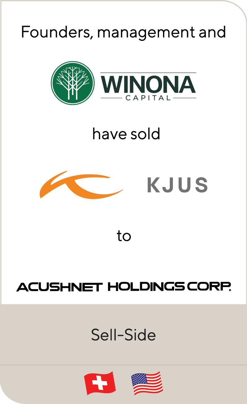 KJUS has been sold to Acushnet Holdings Corp.