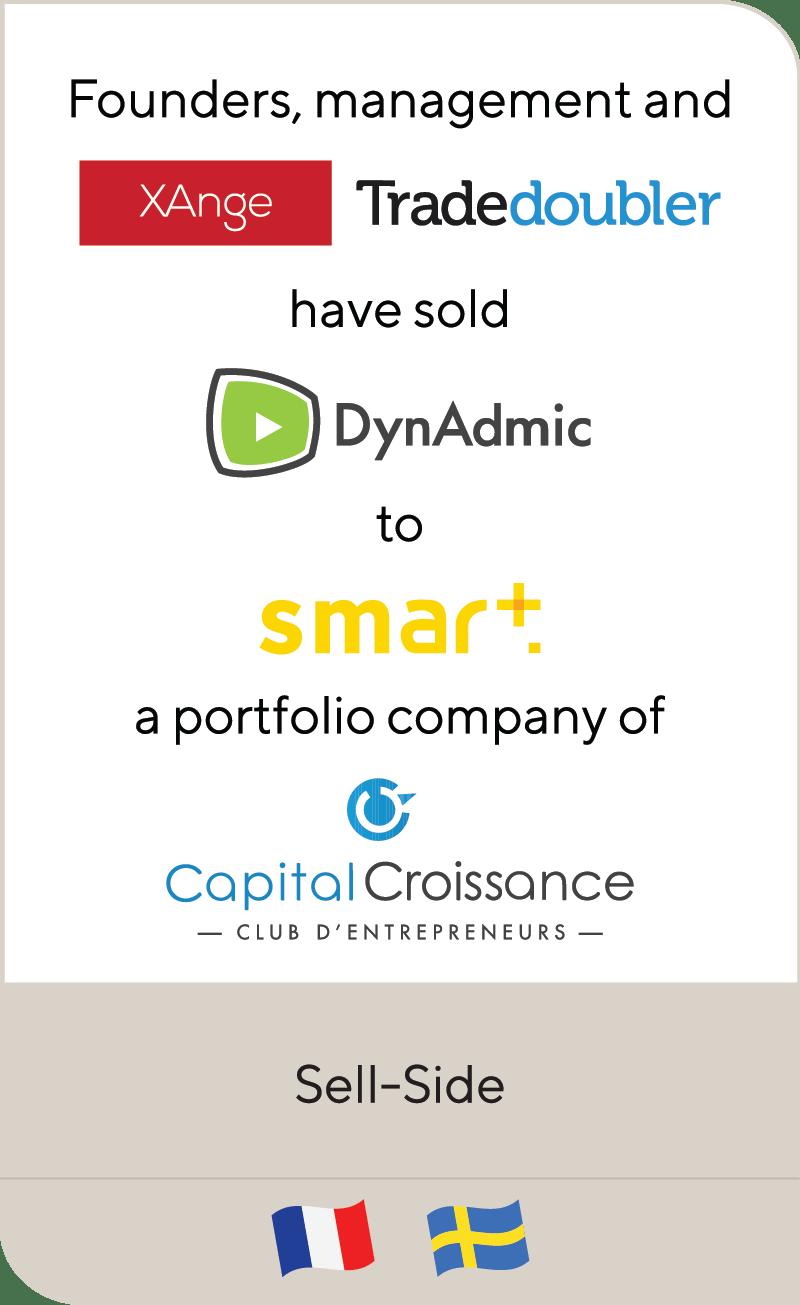 Xange Tradedoubler Dynadmic Smart Adserver Capital Croissance 2021