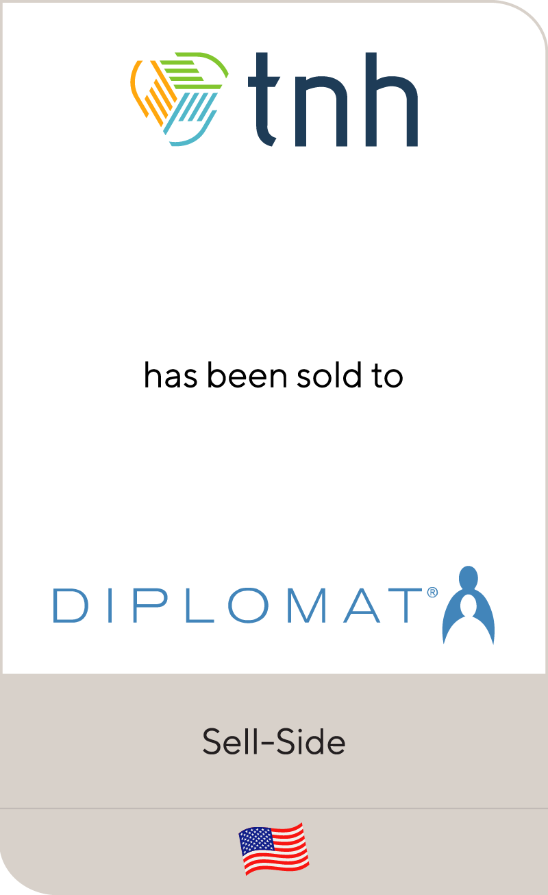 TNH Advanced Specialty Pharmacy has been sold to Diplomat Pharmacy